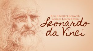What can market research learn from Leonardo da Vinci?