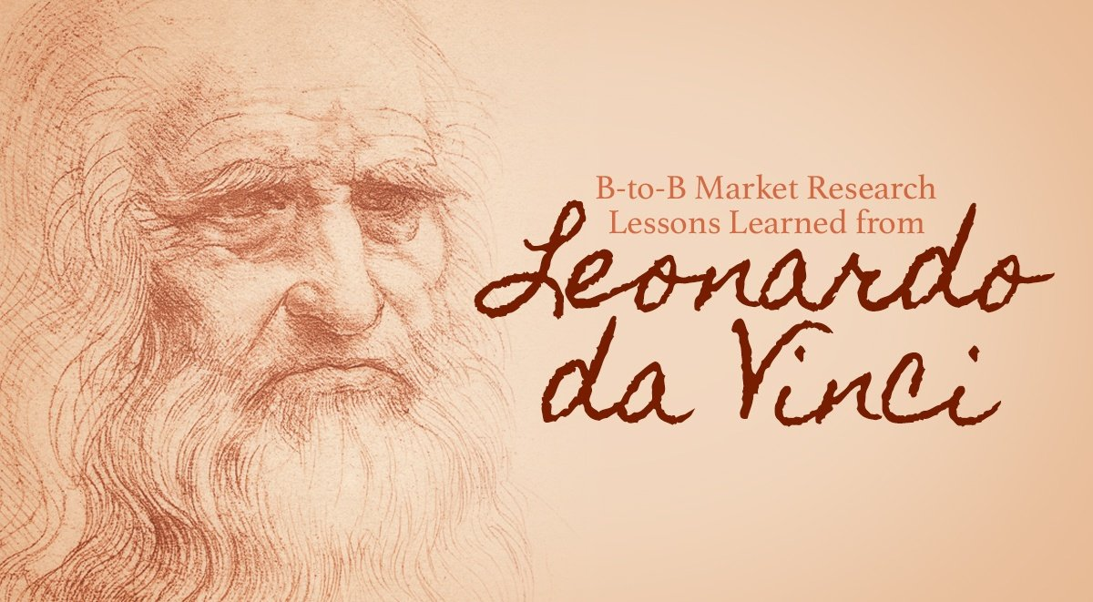 What can market research learn from Leonardo da Vinci?