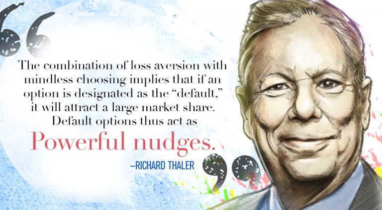 Nudge theory: a concept in behavioral science - Richard Thaler