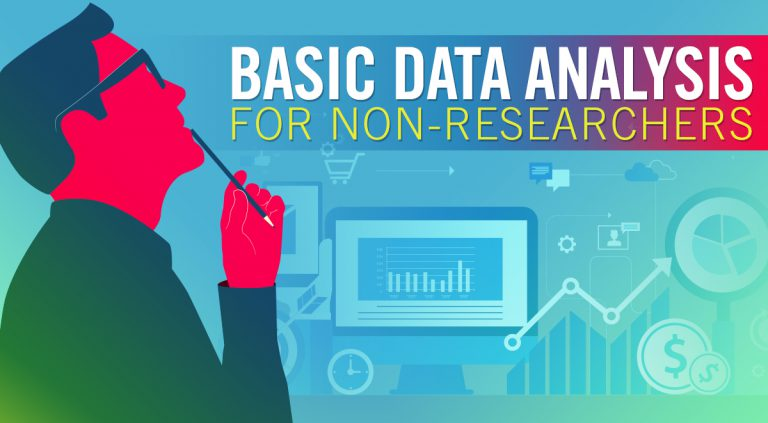 Basic Data Analysis for Non-Researchers