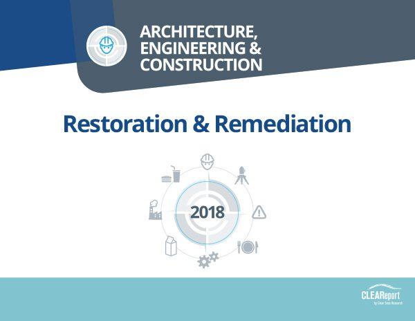 2018 Restoration & Remediation Tools & Equipment