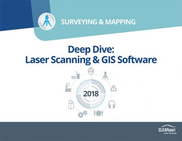 2018 3D Trends Study - Surveying & Mapping | Clear Seas Research